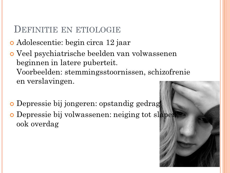 Definitie en etiologie