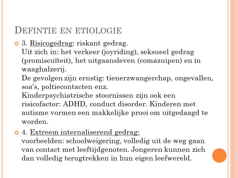 Defintie en etiologie
