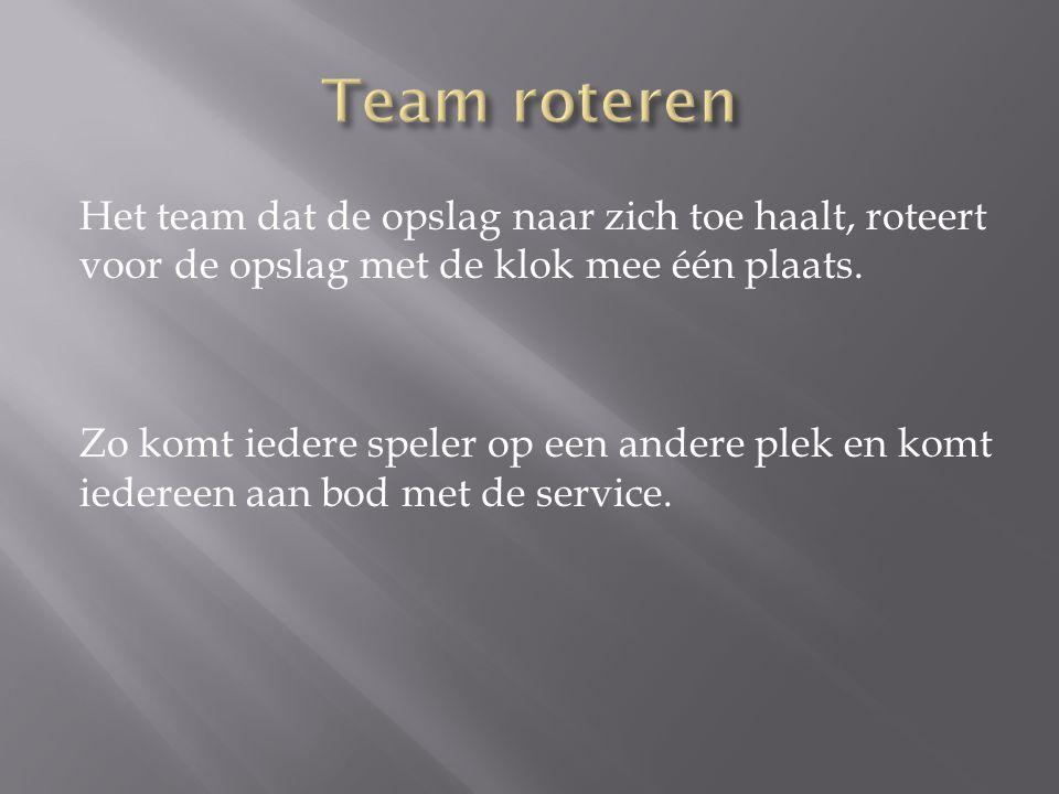 Team roteren