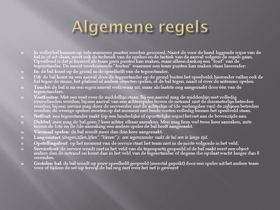 Algemene regels