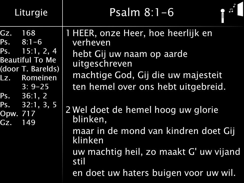 Psalm 8:1-6