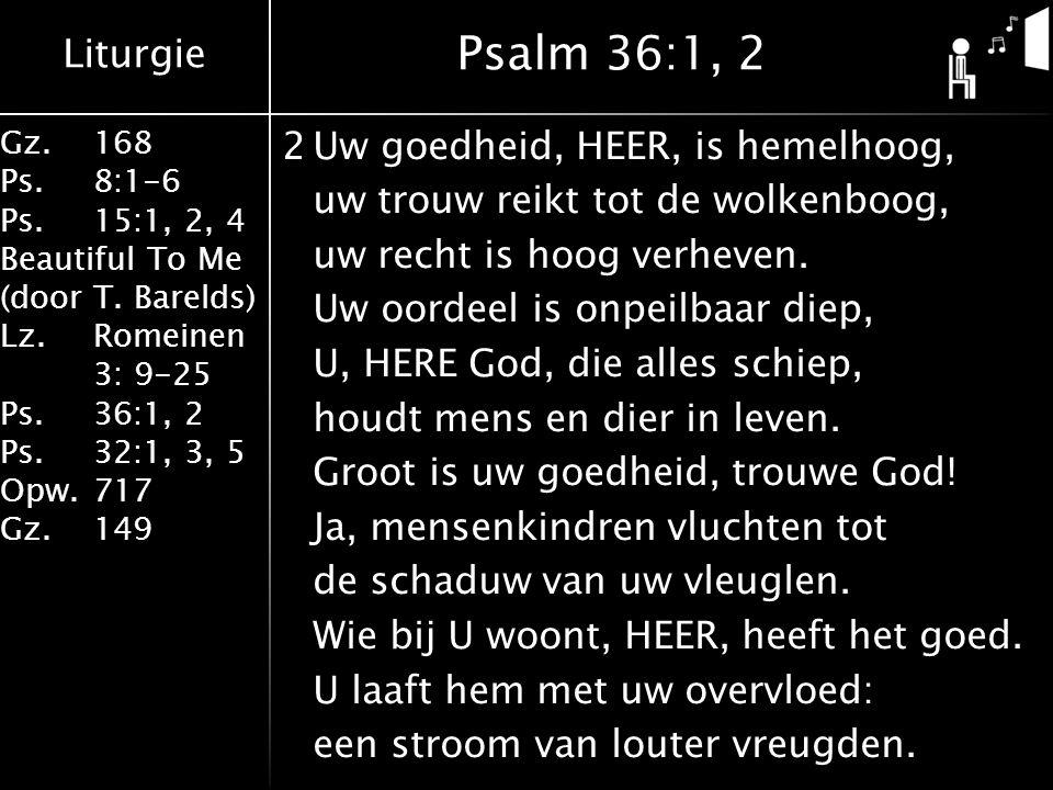 Psalm 36:1, 2
