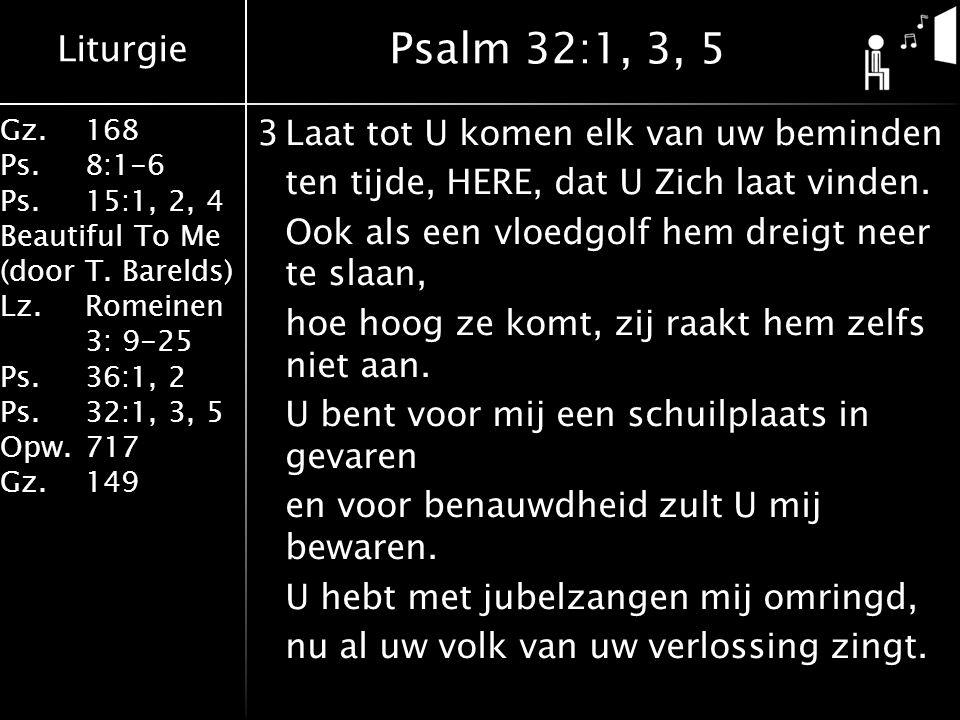 Psalm 32:1, 3, 5