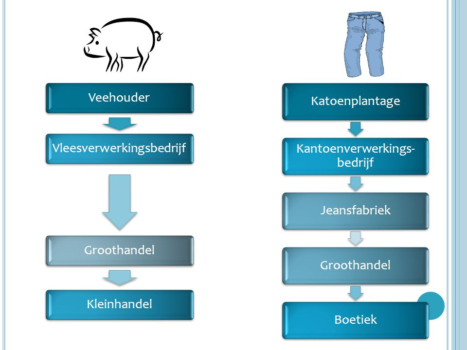 Vleesverwerkingsbedrijf Groothandel Kleinhandel Katoenplantage
