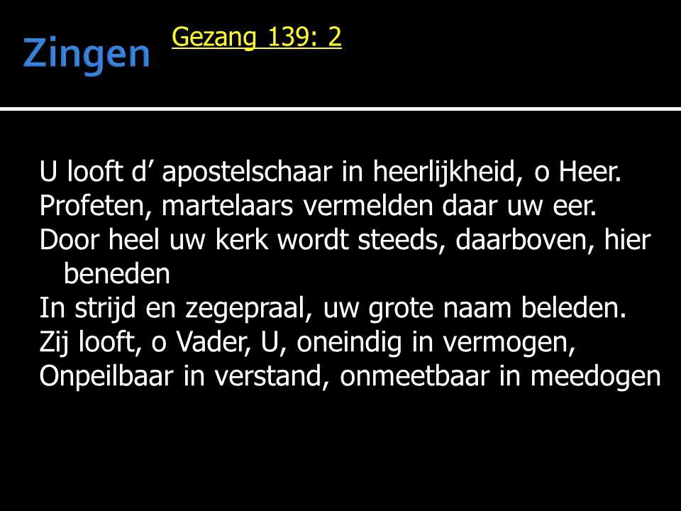 Zingen Gezang 139: 2.