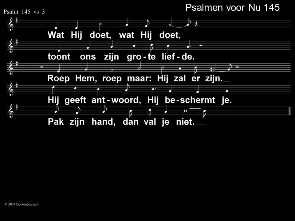 Psalmen voor Nu 145
