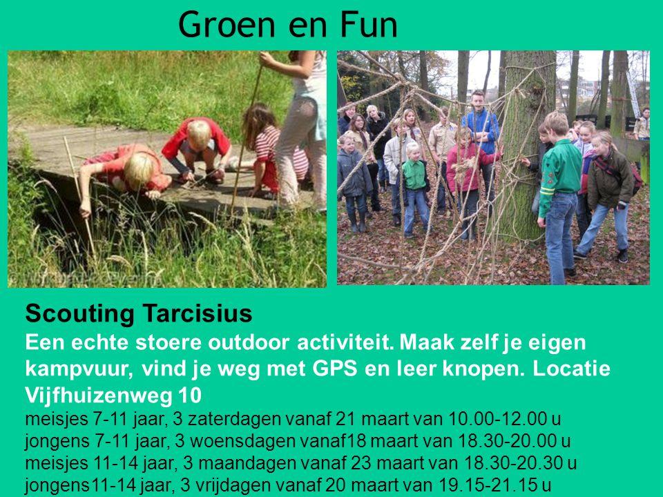 Groen en Fun Scouting Tarcisius
