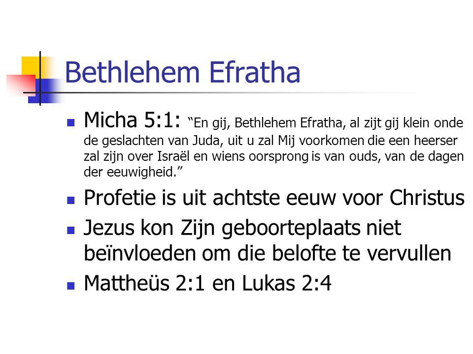 Bethlehem Efratha