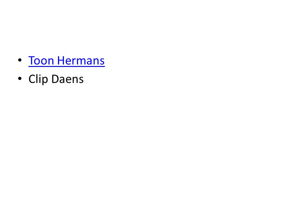 Toon Hermans Clip Daens