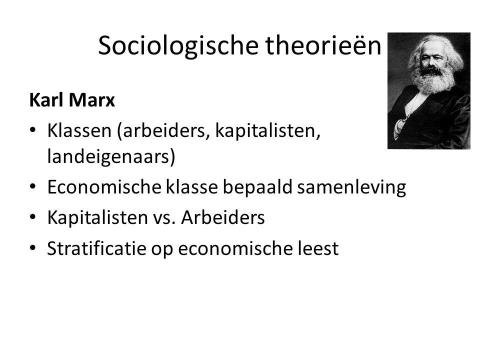 Sociologische theorieën