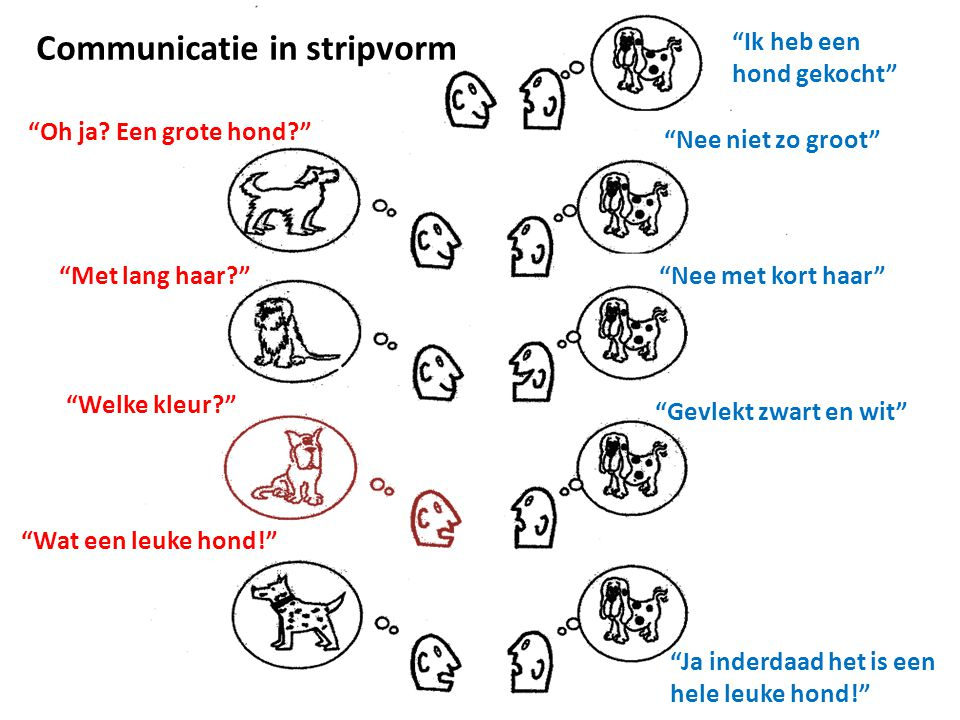Communicatie in stripvorm