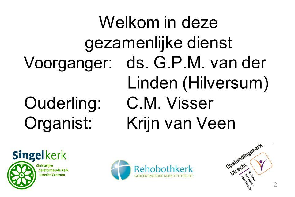 Organist: Krijn van Veen