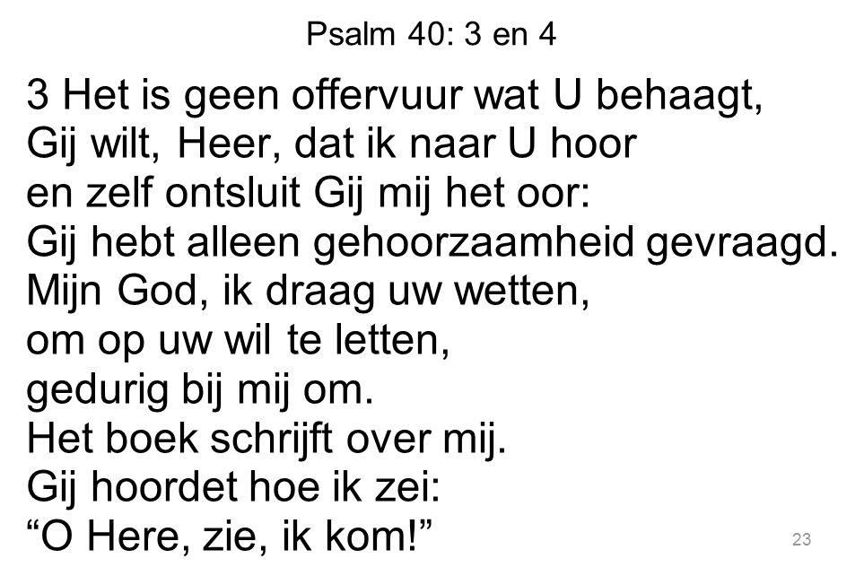Psalm 40: 3 en 4