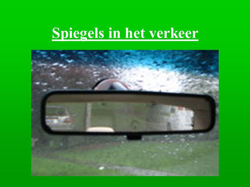 Spiegels in het verkeer