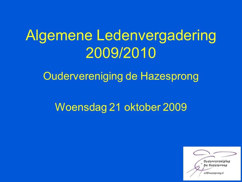 Algemene Ledenvergadering 2009/2010