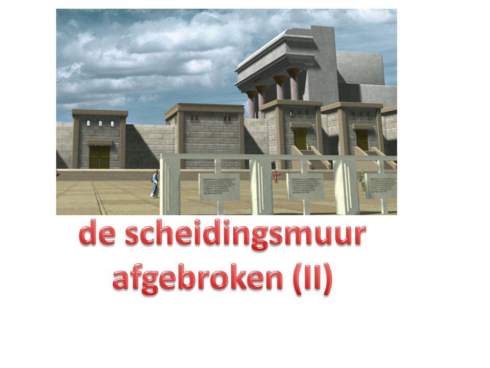 de scheidingsmuur afgebroken (II)