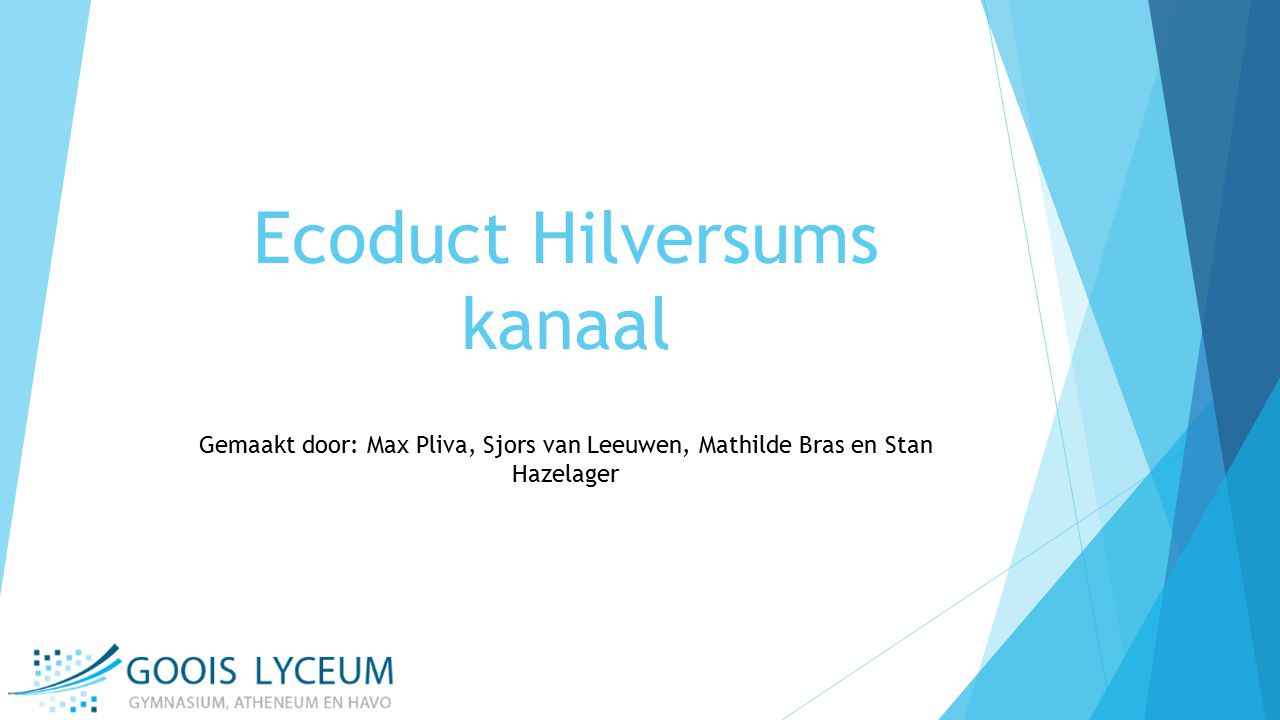Ecoduct Hilversums kanaal