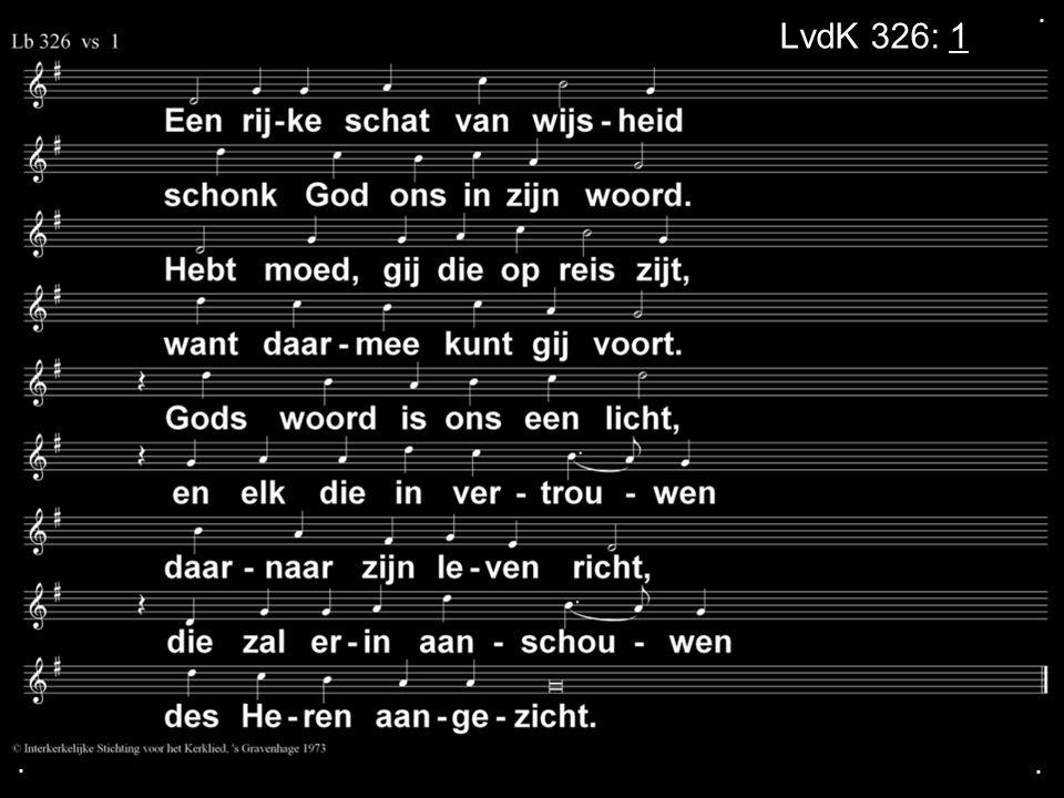 . LvdK 326: 1 . .