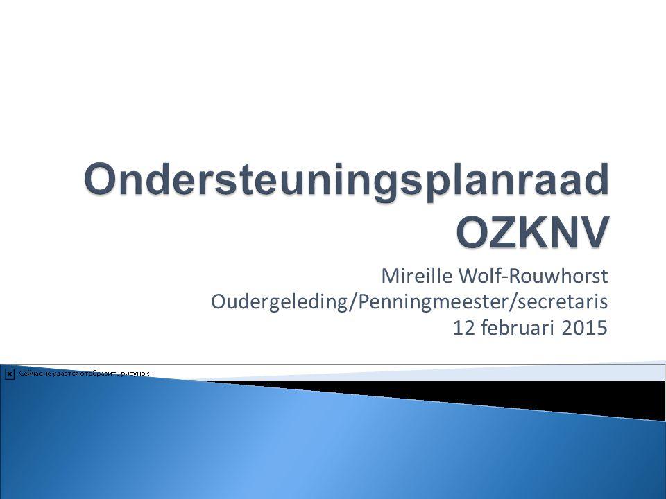 Ondersteuningsplanraad OZKNV