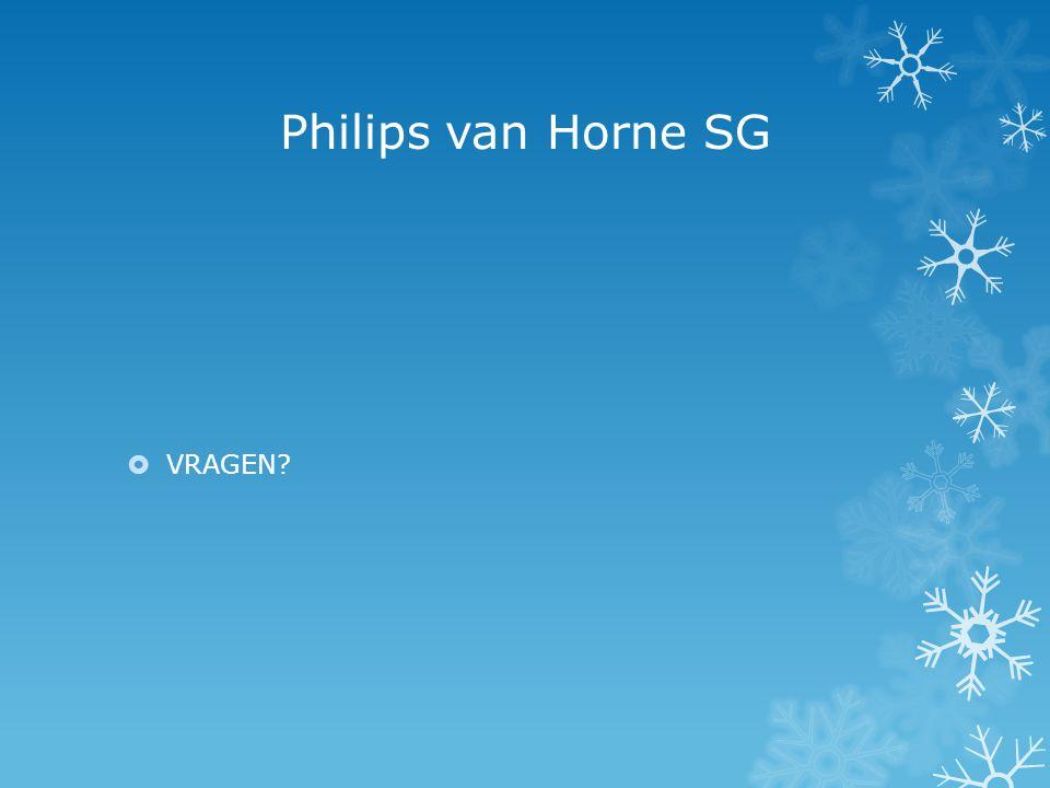 Philips van Horne SG VRAGEN
