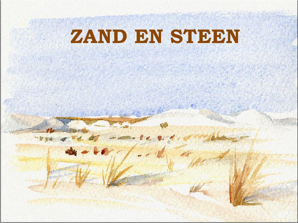 ZAND EN STEEN