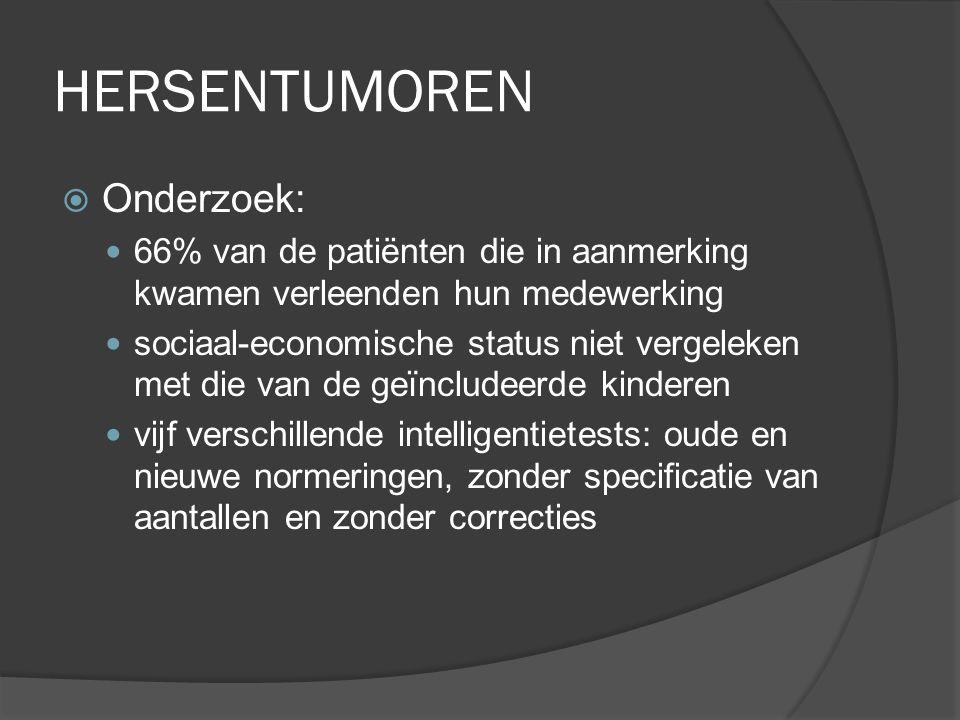 HERSENTUMOREN Onderzoek: