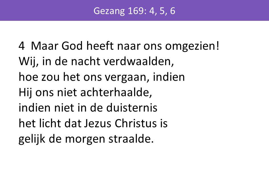 Gezang 169: 4, 5, 6
