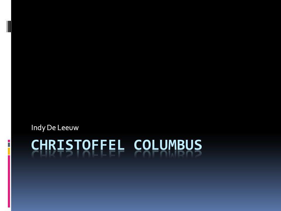 Indy De Leeuw Christoffel Columbus
