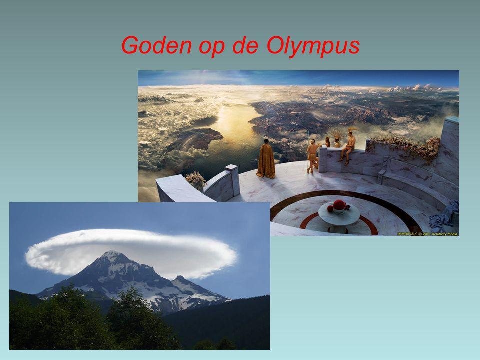 Goden op de Olympus