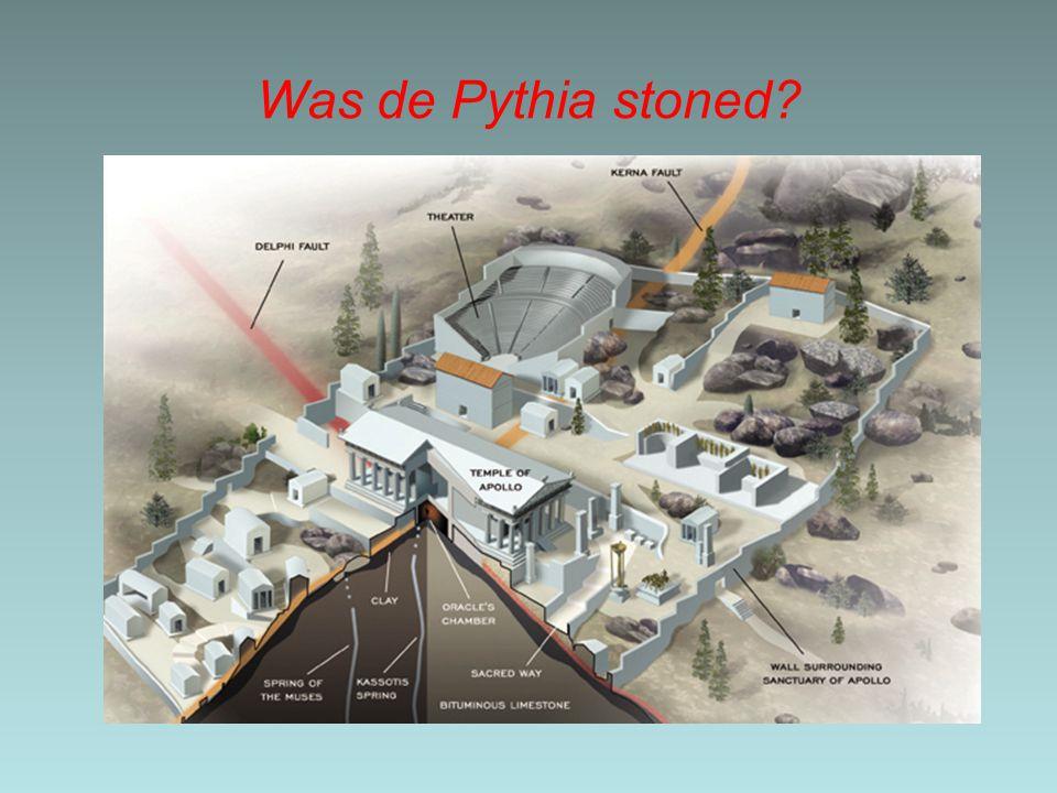 Was de Pythia stoned
