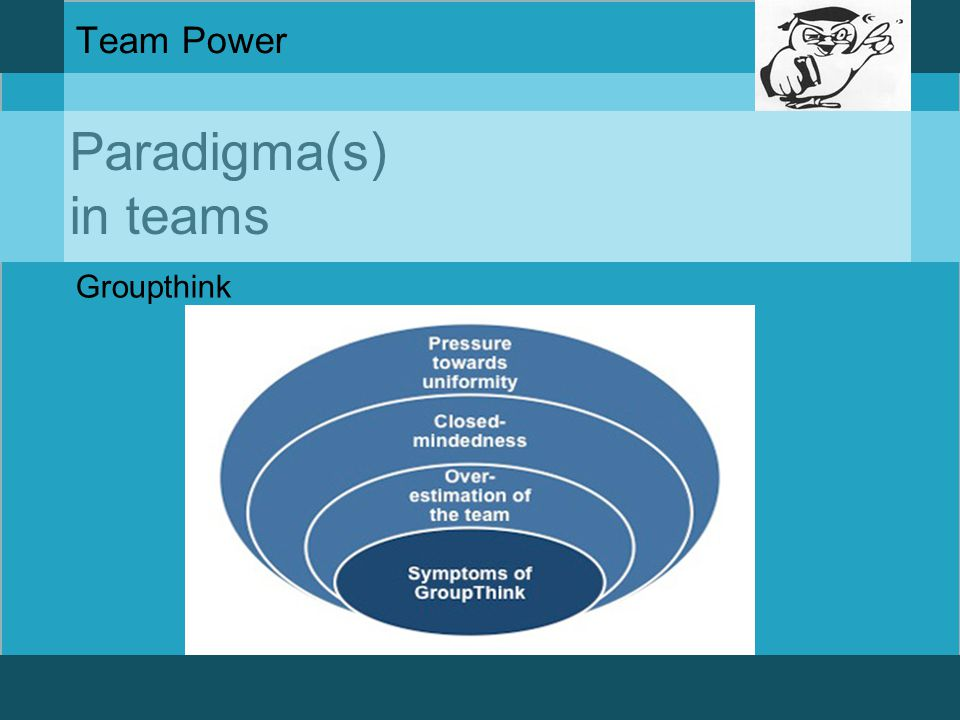 Team Power Paradigma(s) in teams Groupthink