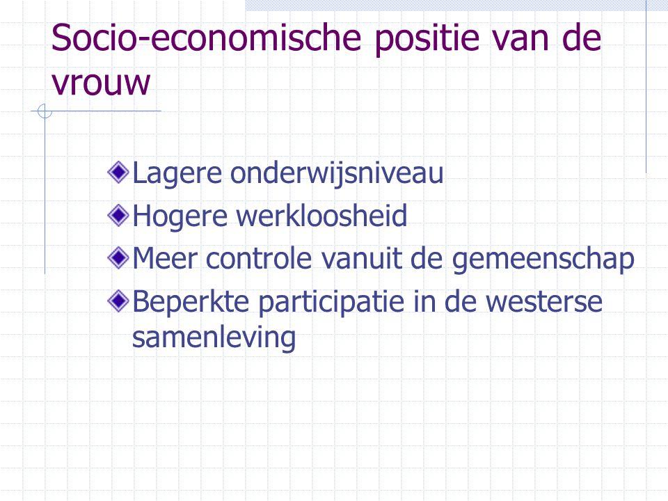 Socio-economische positie van de vrouw
