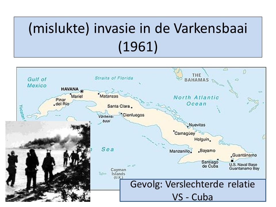 (mislukte) invasie in de Varkensbaai (1961)