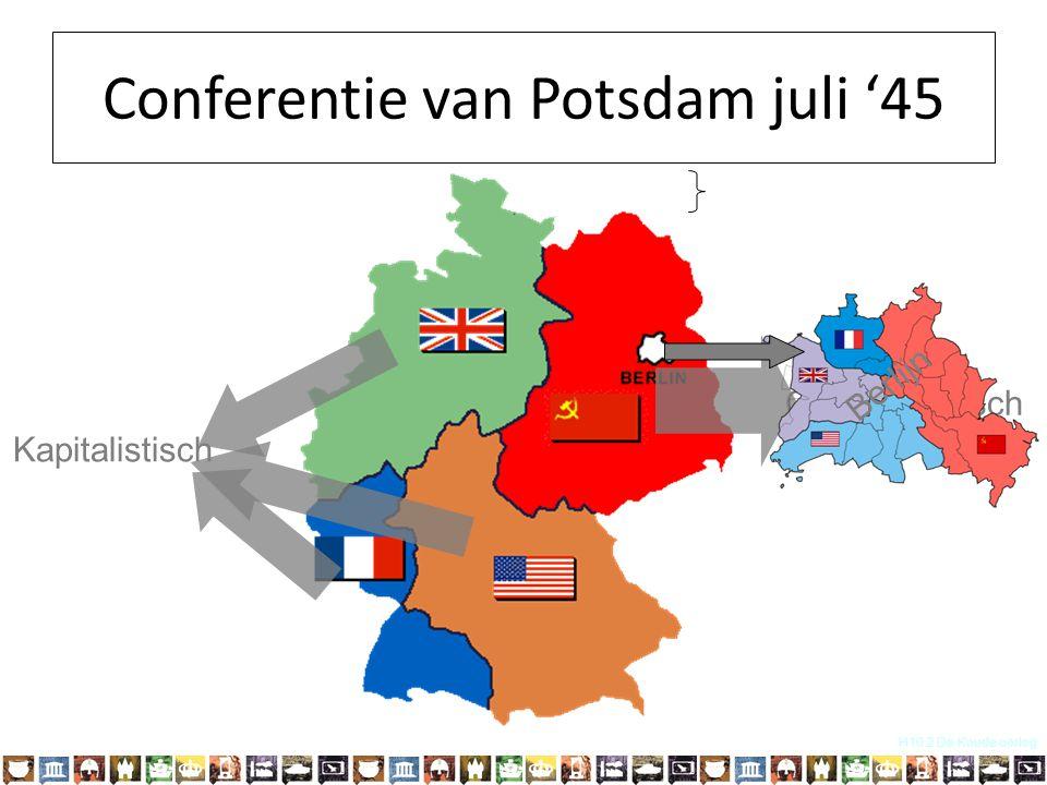Conferentie van Potsdam juli '45