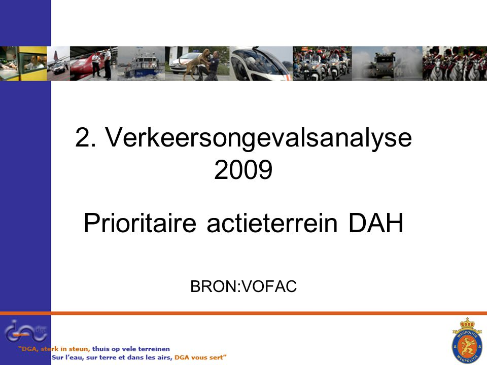 2. Verkeersongevalsanalyse 2009