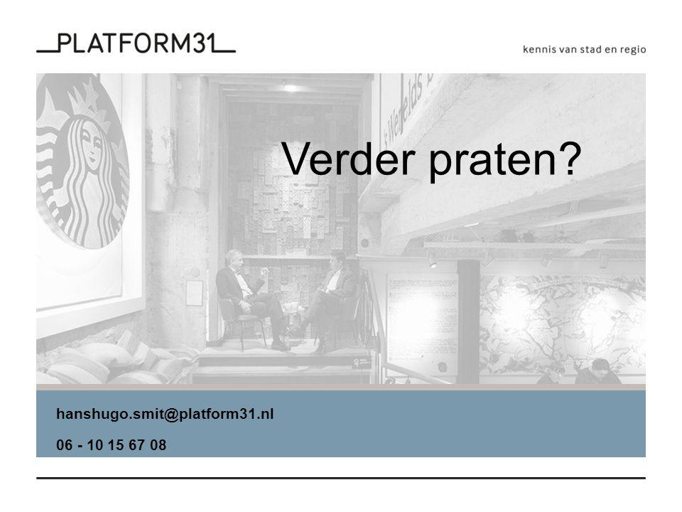 hanshugo.smit@platform31.nl 06 - 10 15 67 08