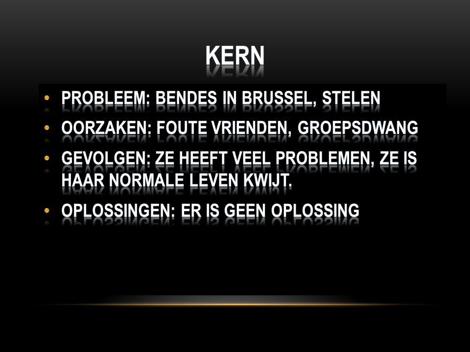 Kern Probleem: Bendes in Brussel, stelen