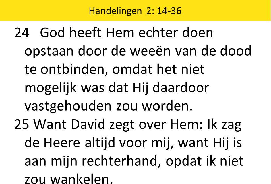 Handelingen 2: 14-36