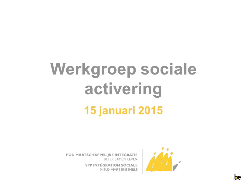 Werkgroep sociale activering