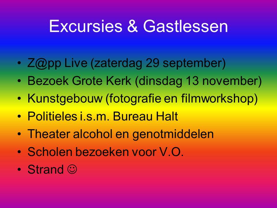 Excursies & Gastlessen