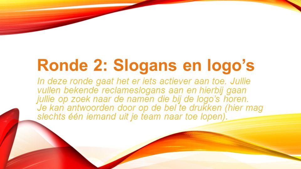 Ronde 2: Slogans en logo's
