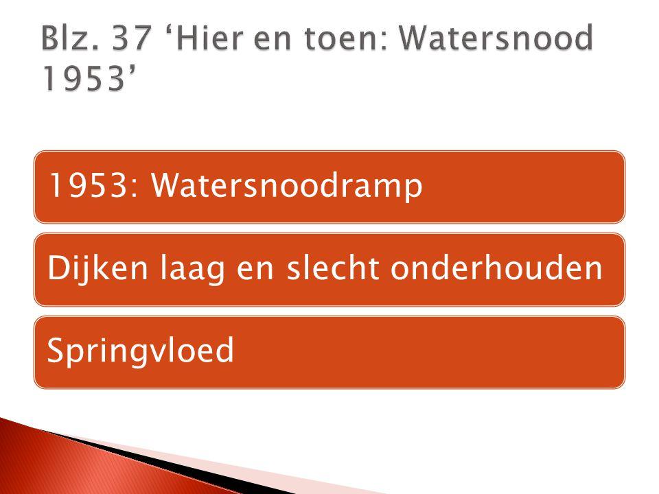 Blz. 37 'Hier en toen: Watersnood 1953'