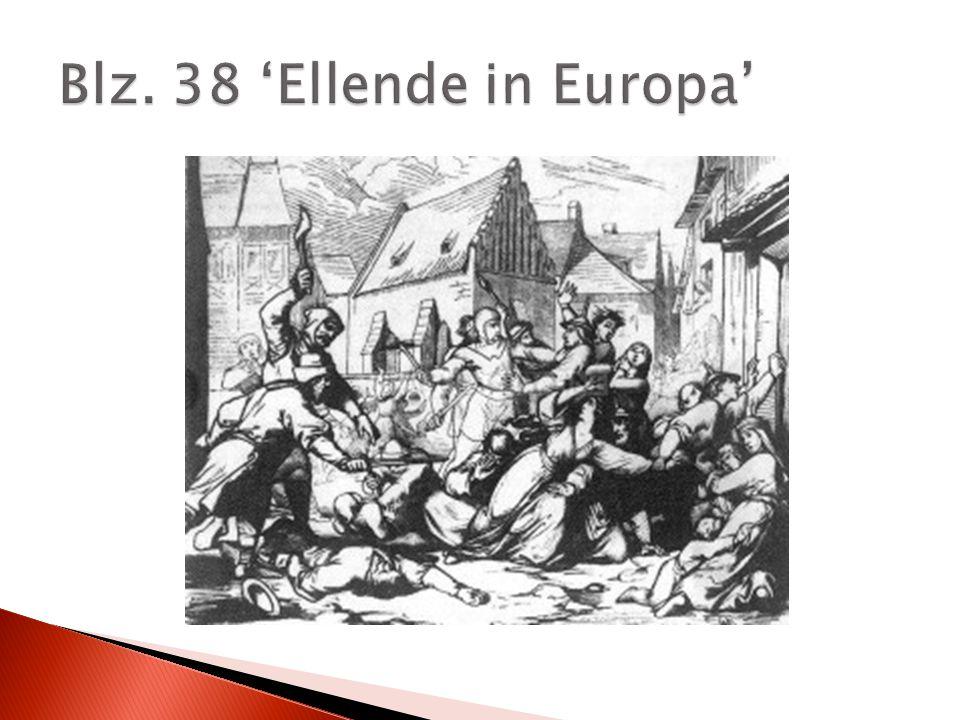 Blz. 38 'Ellende in Europa'
