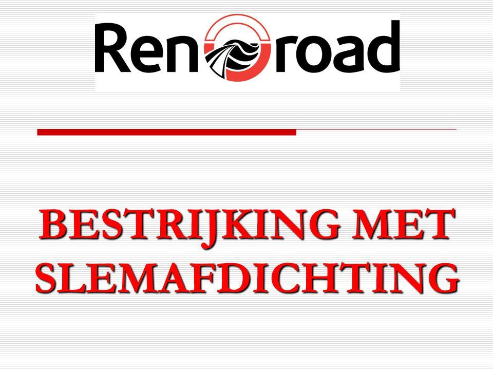 BESTRIJKING MET SLEMAFDICHTING