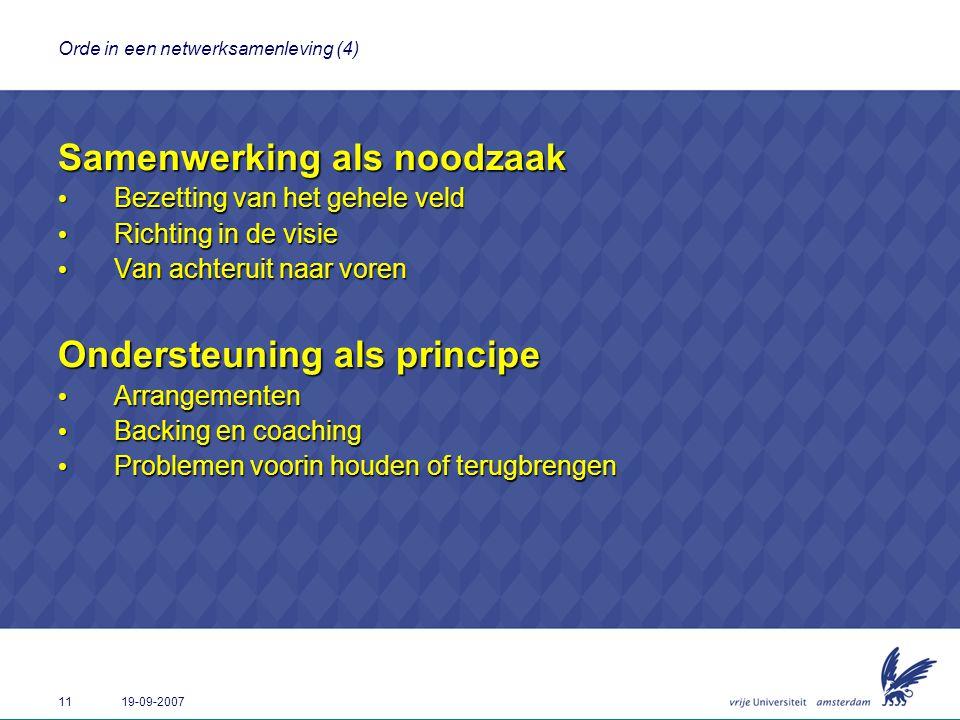 Orde in een netwerksamenleving (4)