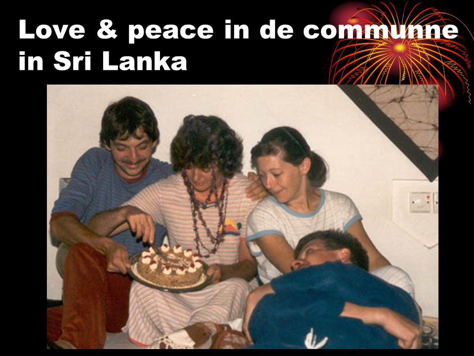 Love & peace in de communne in Sri Lanka
