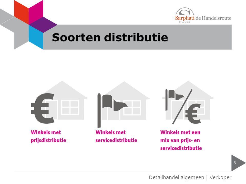 Soorten distributie Detailhandel algemeen | Verkoper