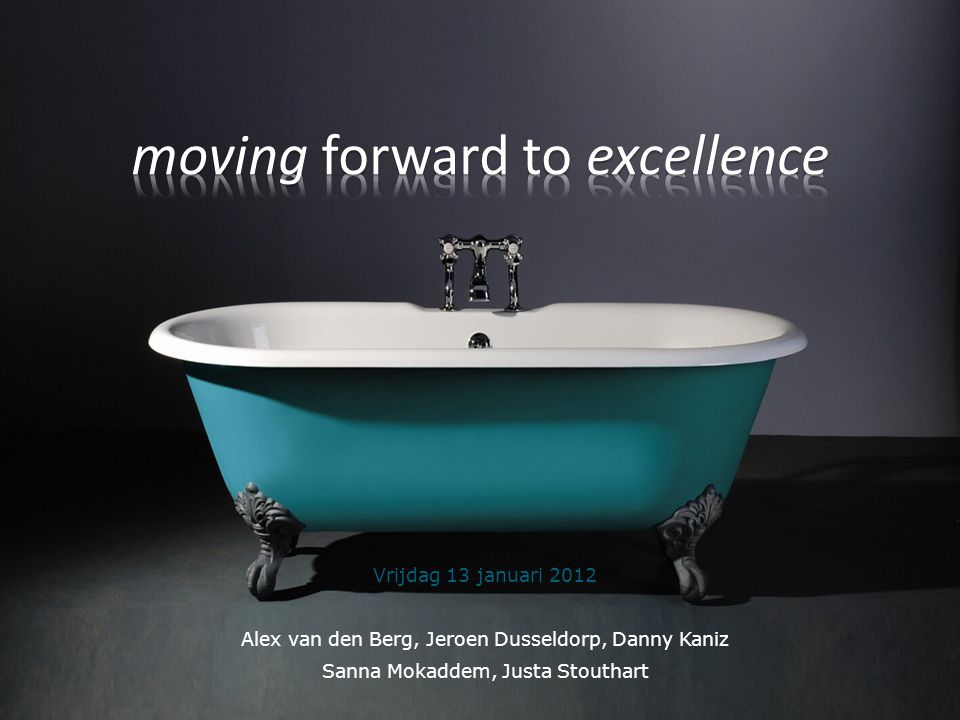 moving forward to excellence