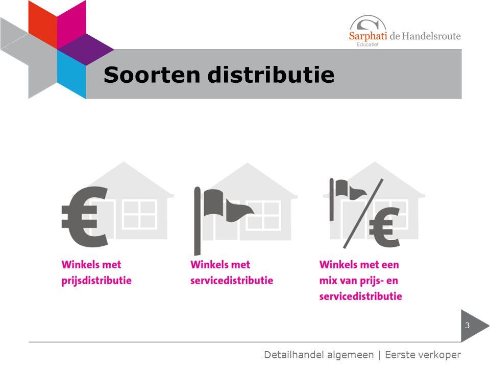 Soorten distributie Detailhandel algemeen | Eerste verkoper