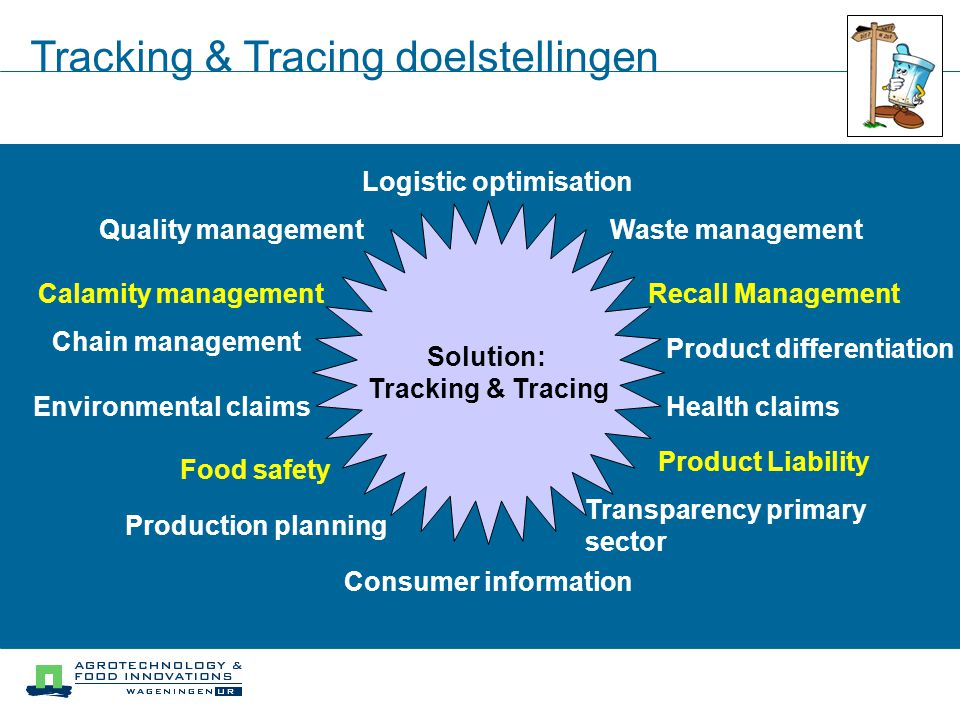 Tracking & Tracing doelstellingen